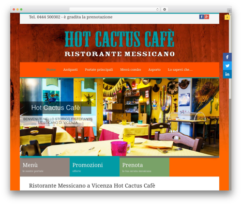 Linofeast best WordPress template - ristorantemessicanovicenza.it