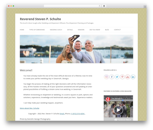 Twenty Twelve theme WordPress free - revschulte.com