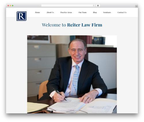 WordPress theme Law business - reiterlawfirm.com