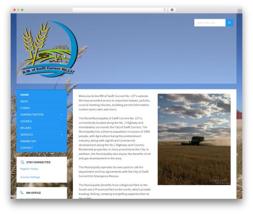Best WordPress template TownPress - rmswiftcurrent.ca