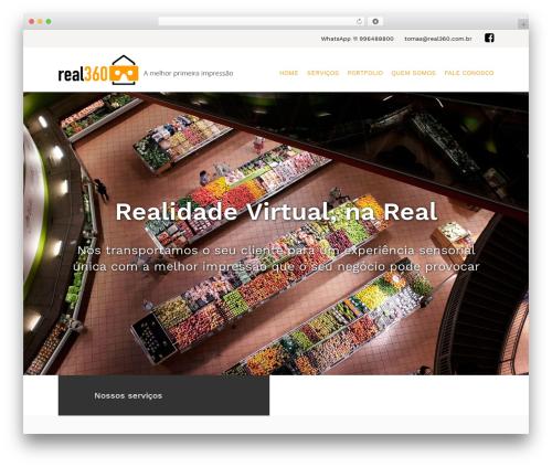 Kira Lite WordPress theme - real360.com.br