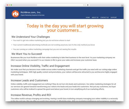 Free WordPress Companion Sitemap Generator plugin - richbros.com