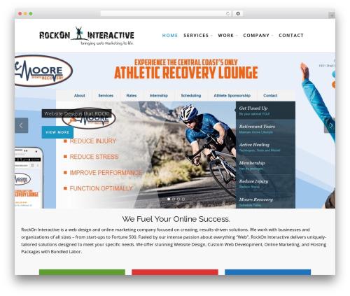 Salient best WooCommerce theme - rockoninteractive.com