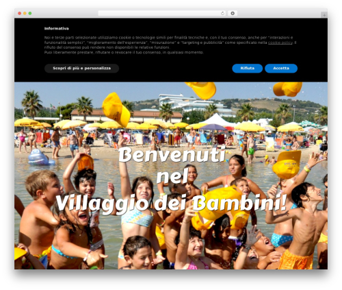 WordPress theme Leisure - rivadeipini.it