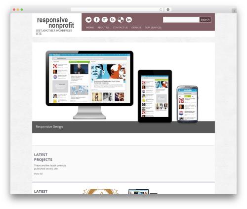 WP template Yasmin - responsivenonprofit.net