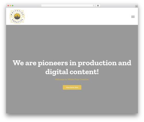 Avada company WordPress theme - whitepinecreative.com