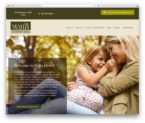 Beaver Builder Theme best WordPress theme - willisdental.net