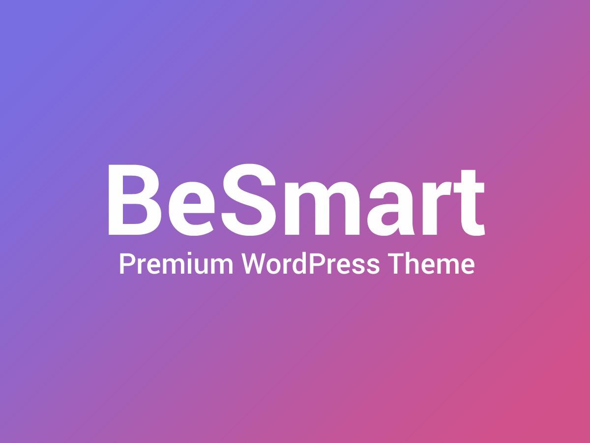 Besmart WordPress magazine theme