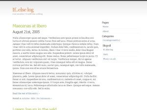 Best WordPress template Simpla