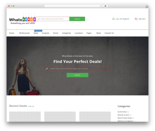 Best WordPress theme CouponXxL - whatsdeals.com.au