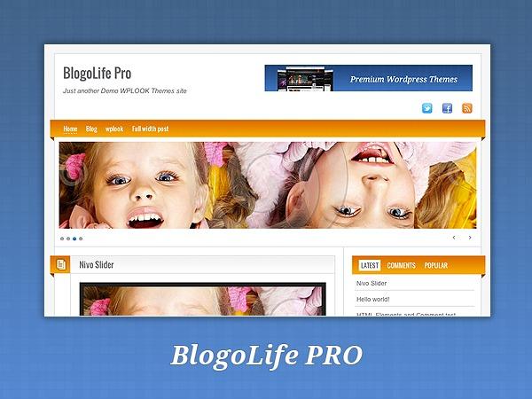BlogoLifePRO WordPress blog theme