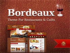 Bordeaux Premium Theme WordPress theme