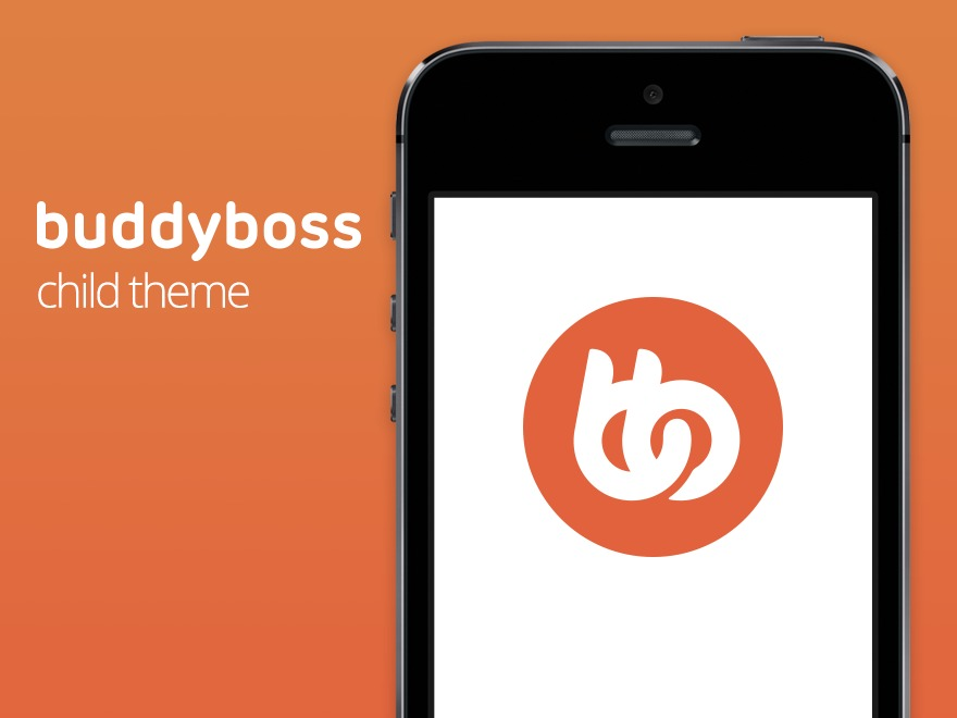 BuddyBoss Child Theme WP template