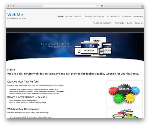 Celestial - Lite WordPress theme - webme.net