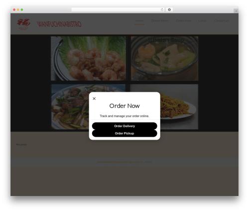 Chinese Restaurant free website theme - wanfuchinabistro.com