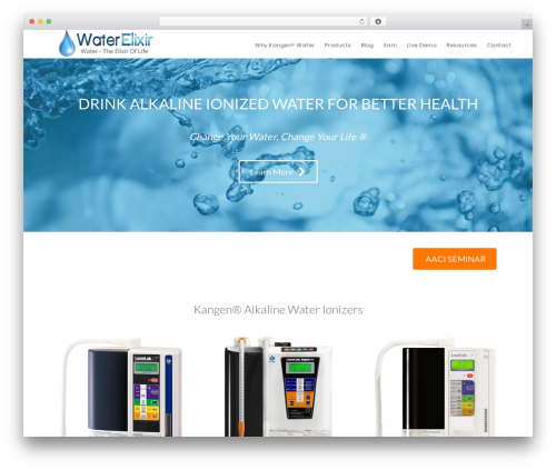Digital Pro theme WordPress - waterelixir.com