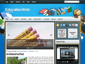 EducationWeb top WordPress theme