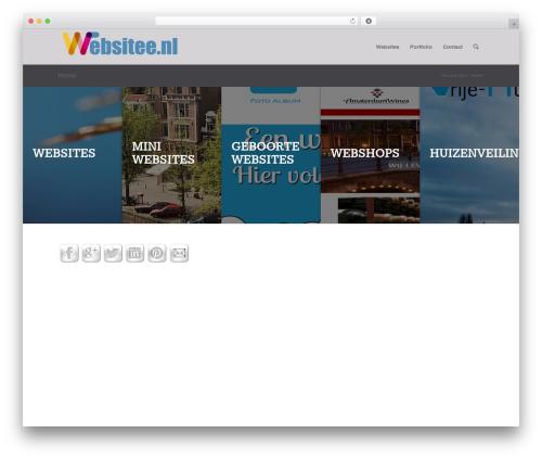 Free WordPress Crafty Social Buttons plugin - websitee.nl