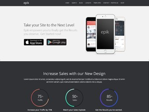 Epik Theme WordPress template