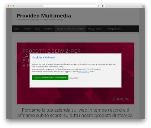 GeneratePress free WP theme - webserviceprovideo.com