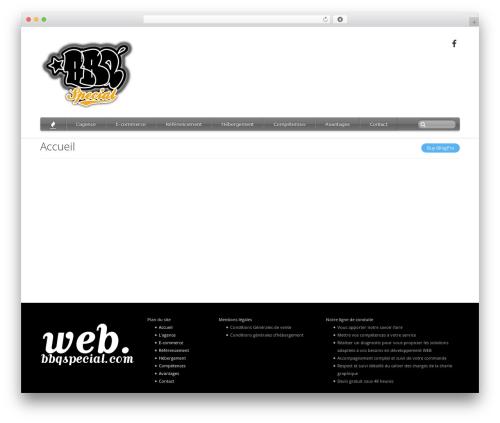 iBlogPro top WordPress theme - web.bbqspecial.com
