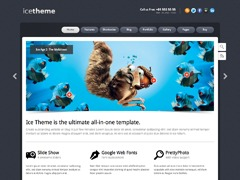 Ice Theme best WordPress theme