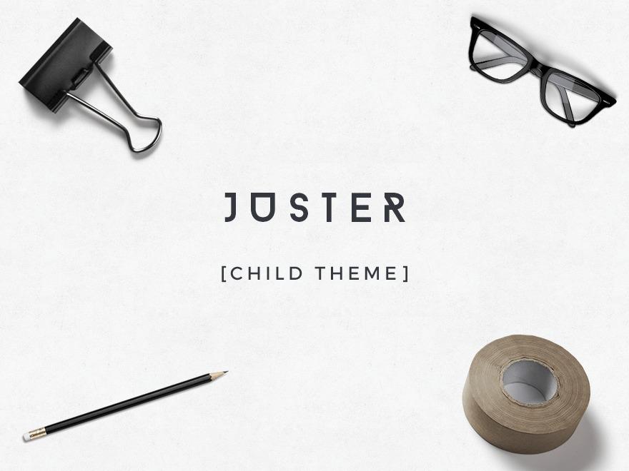 Juster Child theme WordPress