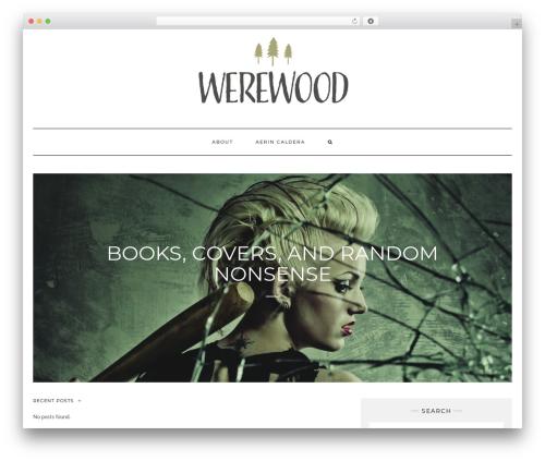 Kale free WP theme - werewood.com