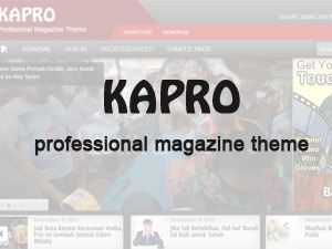 kapro best WordPress magazine theme