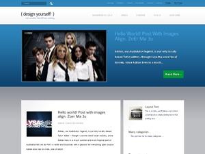 Kreativ WordPress website template