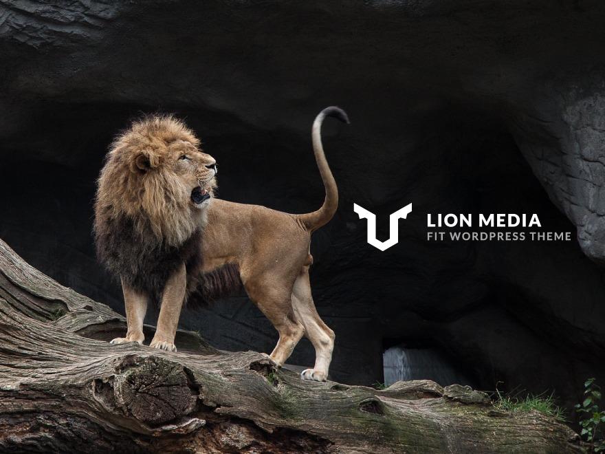LION MEDIA theme WordPress