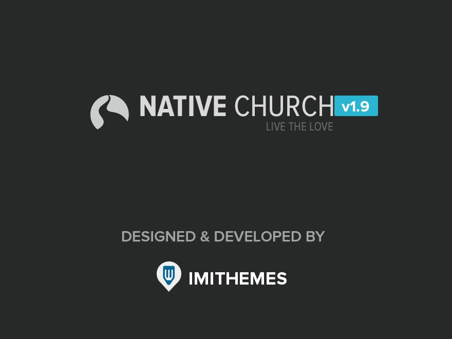 Native Church (shared on wplocker.com) WordPress theme