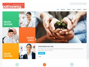 Pathaway personal WordPress theme