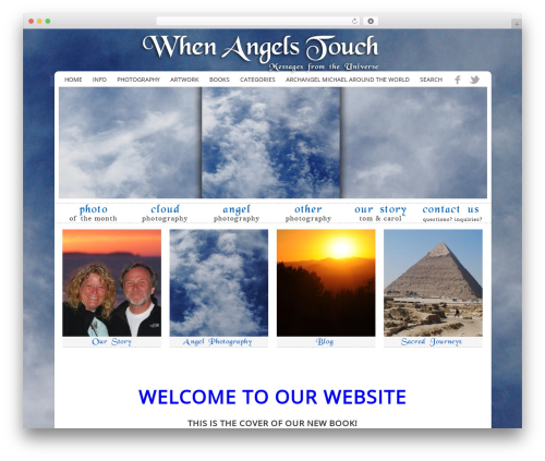 ProPhoto WordPress theme - whenangelstouch.com