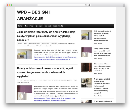 Ready Review free WordPress theme - whitepinedesigns.com