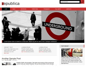 Rebublica company WordPress theme