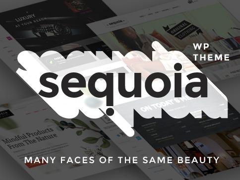 Sequoia WordPress shop theme