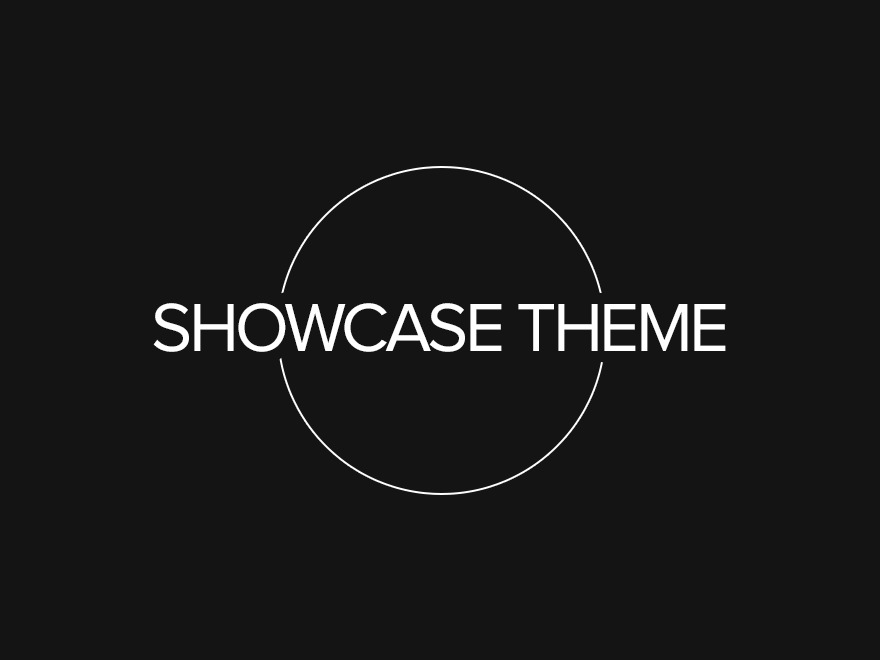 Showcase template WordPress