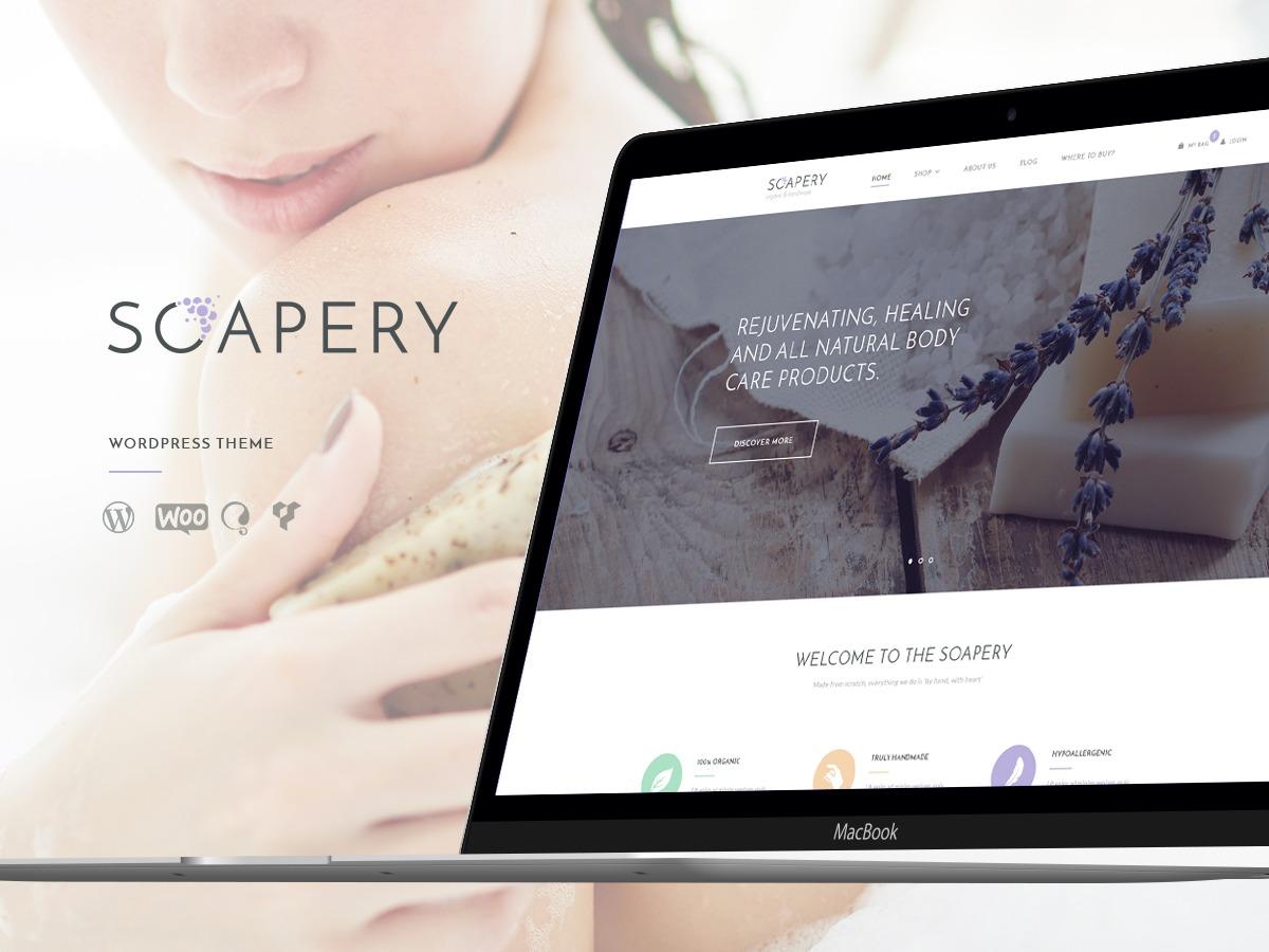 Soapery top WordPress theme