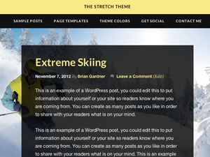 Stretch Child Theme theme WordPress