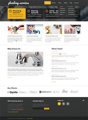 Template WordPress theme47834