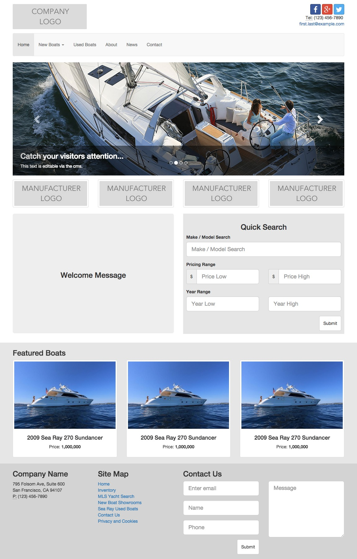 Theme Essential Elite template WordPress