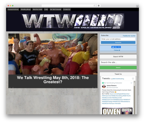 Free WordPress PowerPress Podcasting plugin by Blubrry plugin - wetalkwrestling.com