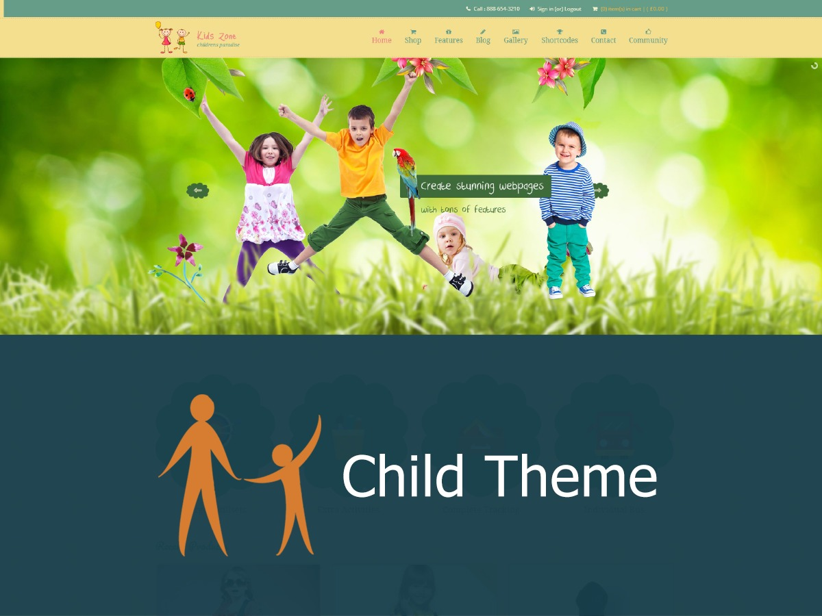 Theme WordPress Whistle Child