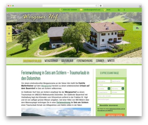 trend media libary best WordPress template - wergeserhof.com
