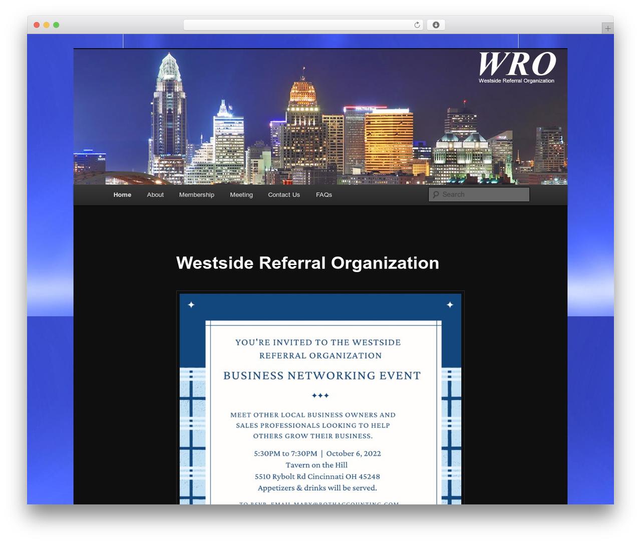 Twenty Eleven best free WordPress theme - westsidereferral.org