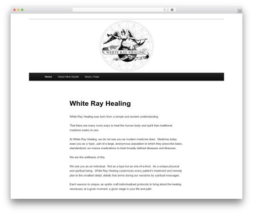 Twenty Eleven WordPress theme free download - whiterayhealing.com