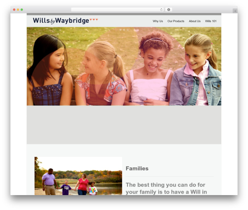 Twenty Thirteen template WordPress free - willsbywaybridge.com