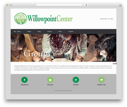 Free WordPress Slick Sitemap plugin - willowpointcenter.org