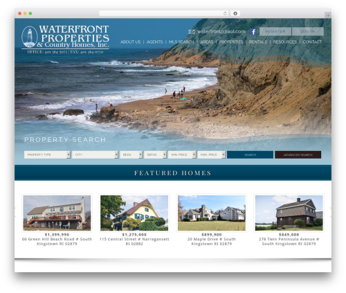 Free WordPress WP-PageNavi plugin - waterfrontpropertiesri.com